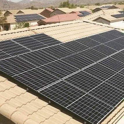 Instalación de paneles solares en Benifaió