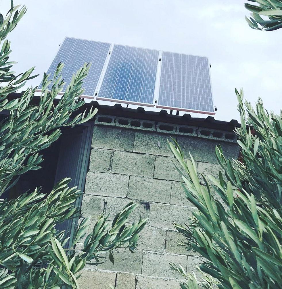 Instalación de placas solares en Albal