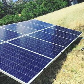 Instalación de placas solares en Silla