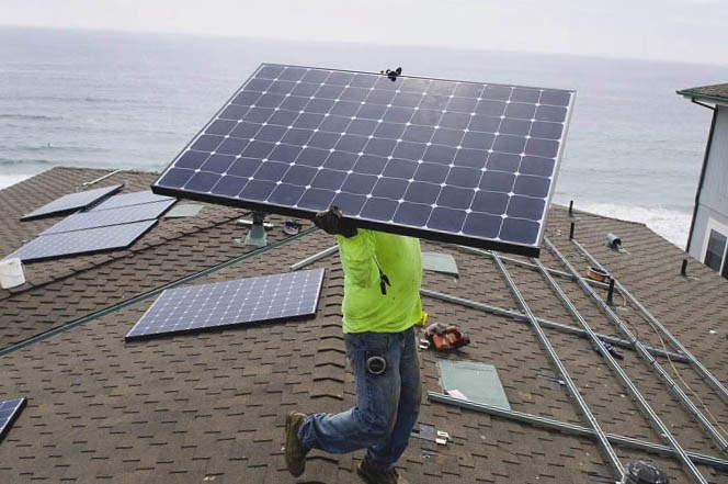 Instalar placas solares en cullera