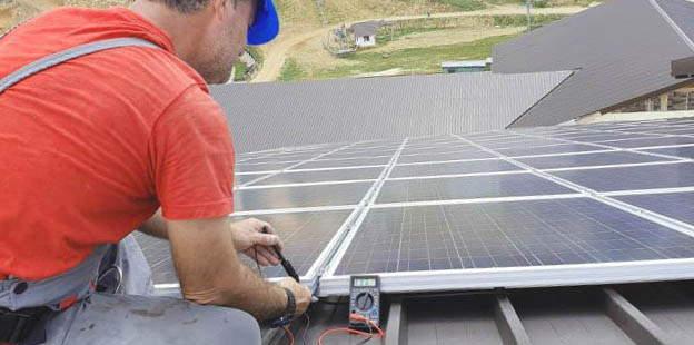 Instalación de Placas solares en Sagunto