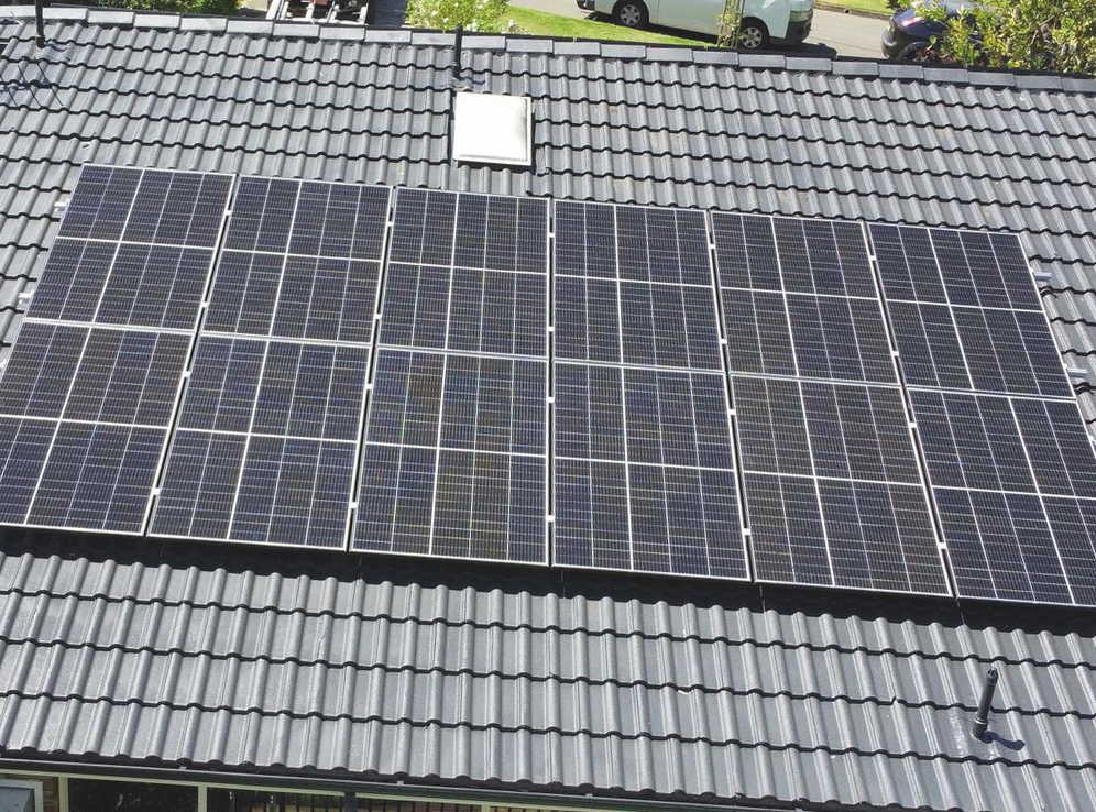 Instalación de placas solares en Burriana